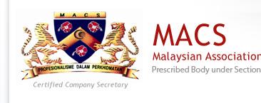 Persatuan Setiausaha Syarikat Malaysia (Malaysian Association Of Company Secretaries - MACS)